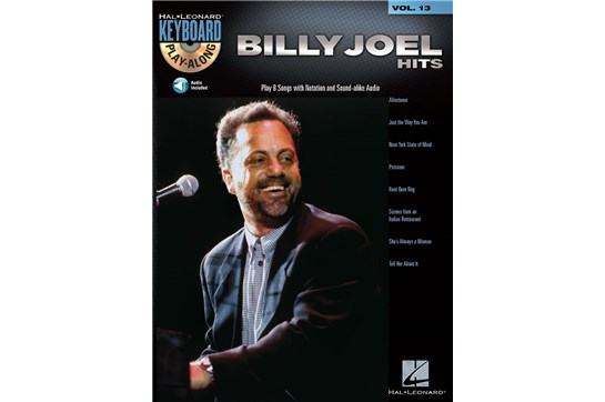 Billy Joel Hits - Keyboard Play-Along Volume 13