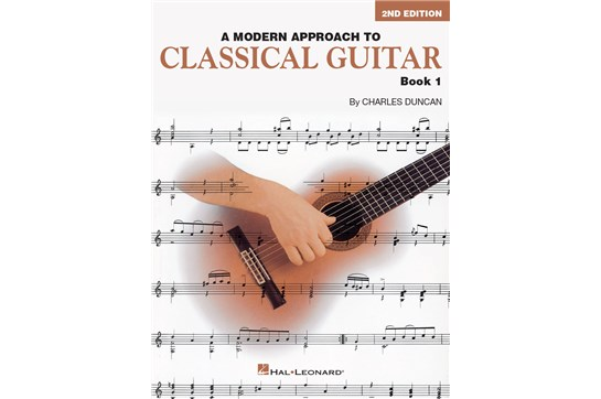 Modern Approach to Classical Guitar Book 1