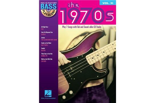 1970s Bass Play-Along TAB Volume 31