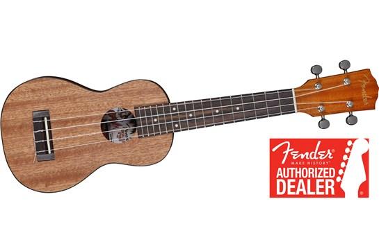 Fender U'Uku Soprano Ukulele (Mahogany)
