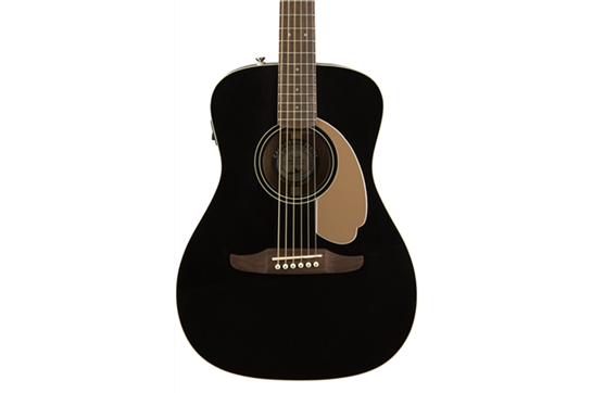 Fender Malibu Player Acoustic Guitar (Jetty Black)