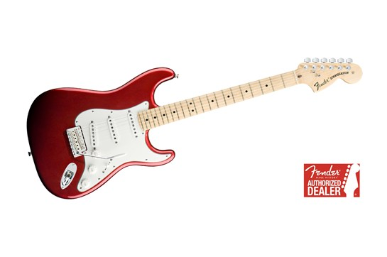 Fender American Special Stratocaster Maple (Candy Apple Red)