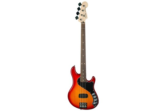 Used Fender Deluxe Dimension IV Bass Rosewood (Aged Cherry Burst)