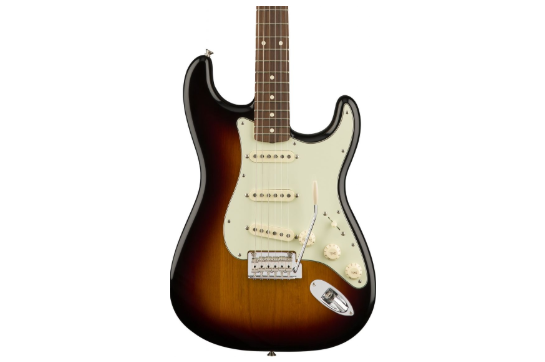 Fender Player Strat (Pau Ferro, 3-Color Sunburst)