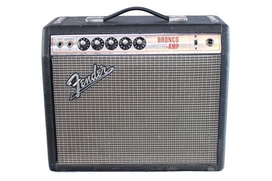 1968 Fender Bronco amp