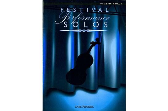 Festival Performance Solos - Volume 1 (Violin)
