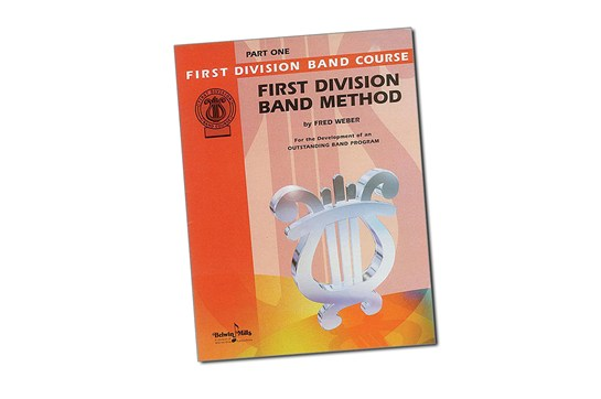 First Division Band Method Tenor Sax Lesson Book Part 1