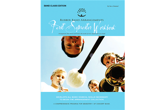 Rubber Band Arrangements First Semester Workbook - Mallet Percussion