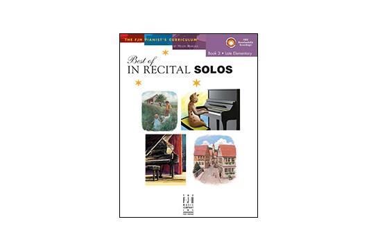 Best of In Recital Solos - Book 3