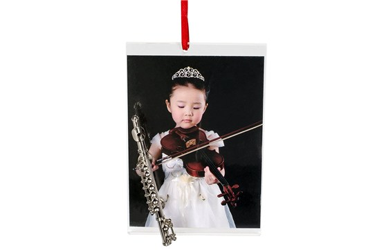 Picture Frame Ornament With Flute