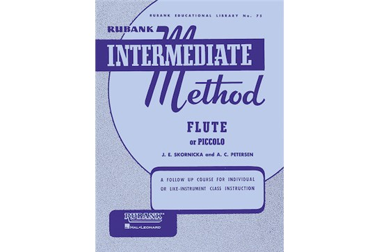 Rubank Intermediate Method - Flute