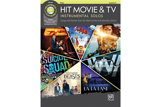 Hit Movie & TV Instrumental Solos (Flute)