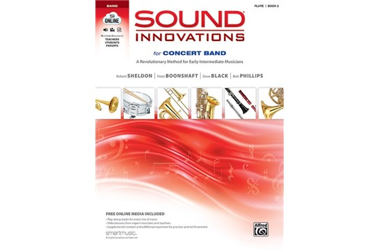 Sound Innovations for Concert Band - Flute Book 2