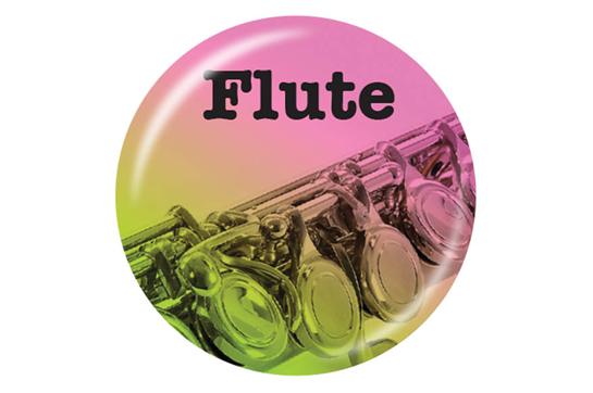 Flute Button