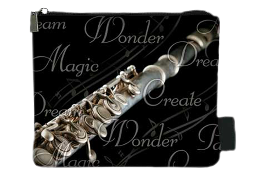 Music Treasures Flute Coin Purse