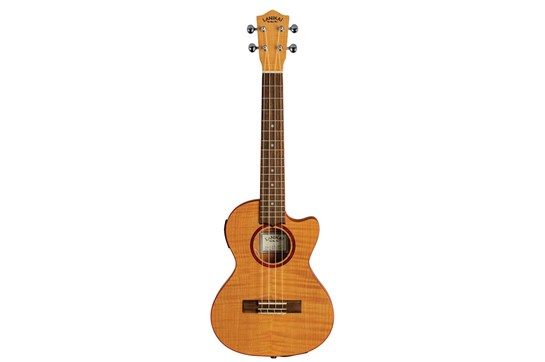 Lanikai Flame Maple Thinline Tenor Ukulele