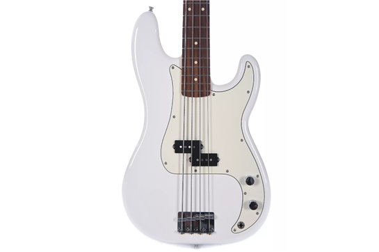 Fender Player Precision Bass Guitar (Pau Ferro, Polar White)
