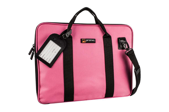 Protec Portfolio Bag for Music (Fucshia)