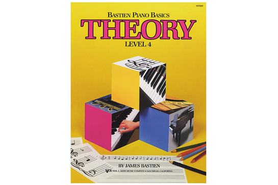 Bastien Piano Basics: Theory Level 4