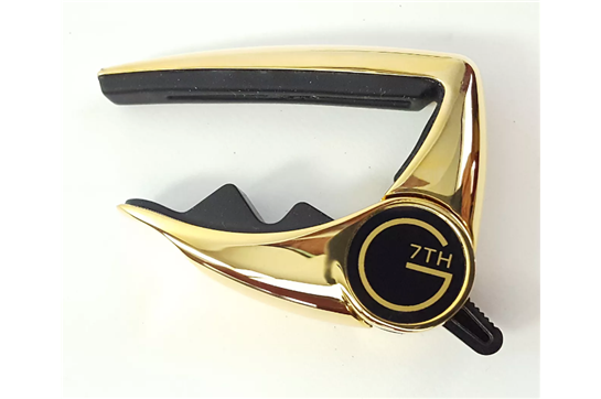 G7th Performance Guitar Capo Gold (early version)