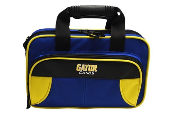 Gator Spirit Lightweight Clarinet Case (Yellow and Blue)