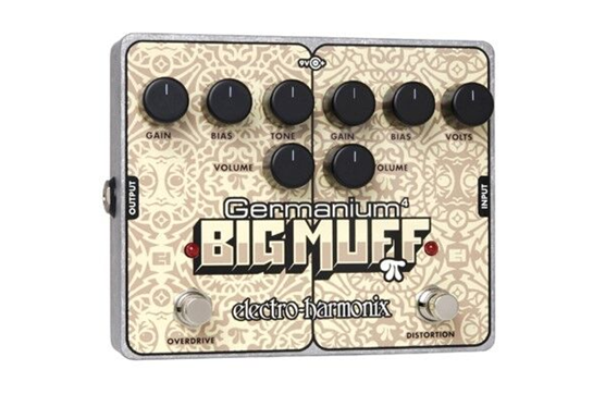 Electro-Harmonix Germanium 4 Big Muff Overdrive & Distortion Guitar Effects Pedal
