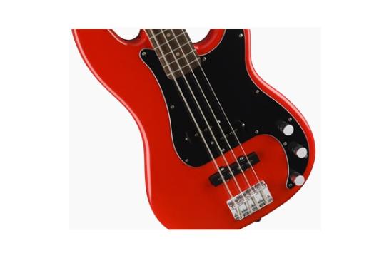 Squier Affinity PJ Bass (Laurel, Race Red)