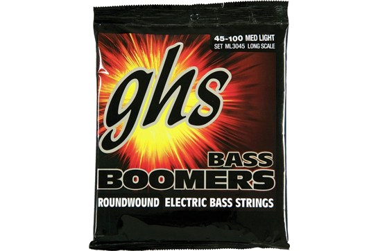 GHS Boomers ML3045 Medium Light Electric Bass Strings