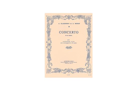 3421S10 Concerto for Alto Saxophone