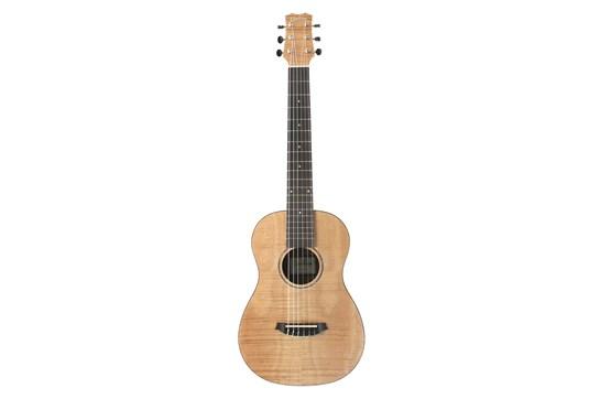 2017 Cordoba Mini II Flamed Mahogany Travel Guitar - Used