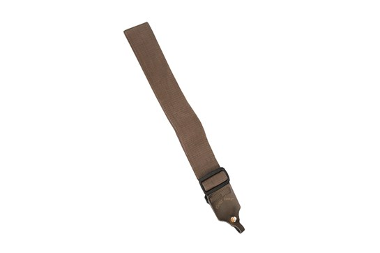 Gold Tone Cloth Banjo Strap (Brown)