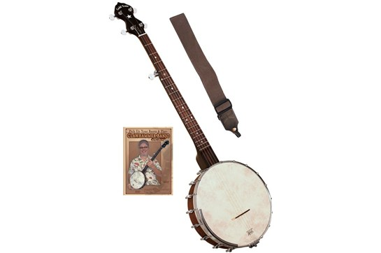 Gold Tone CC-OT Open Back Banjo Pack