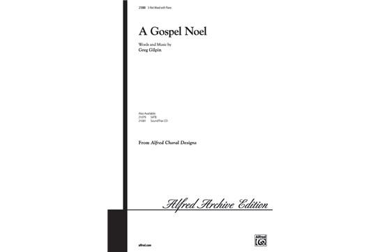 A Gospel Noel - SAB