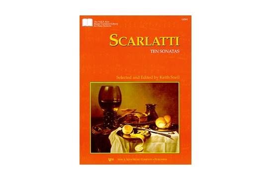 Scarlatti Ten Sonatas - Piano Solo (7111A2)