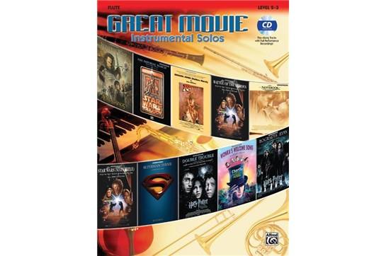 Great Movie Instrumental Solos for Flute
