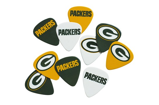 Green Bay Packers Guitar Picks (10 Pack)