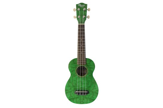 Ohana SK-15W Soprano Ukulele - Willow Green