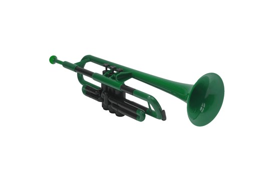 pTrumpet Green Plastic Trumpet