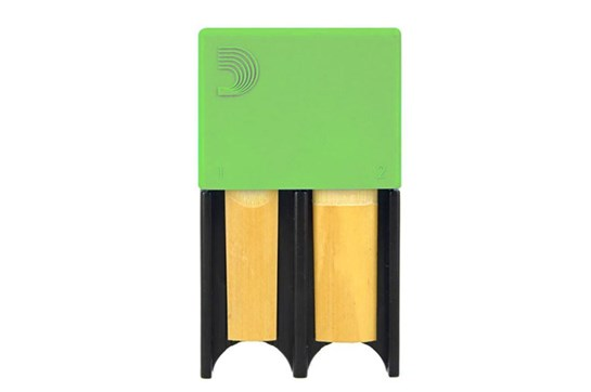 D'Addario Reed Guard - Small (Green)