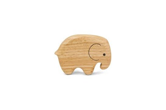 Green Tones Elephant Shaker