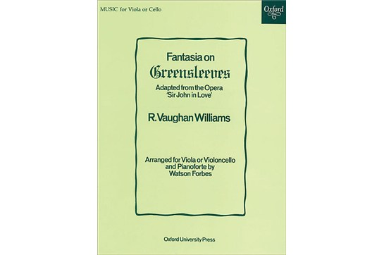 Fantasia On Greensleeves for Viola