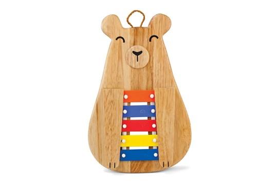 Green Tones Papa Bear Glockenspiel