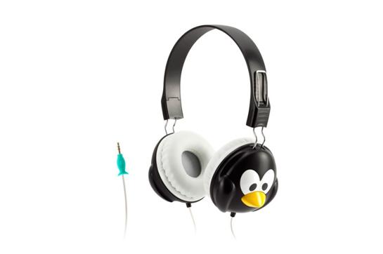 Griffin KaZoo Penguin Headphones