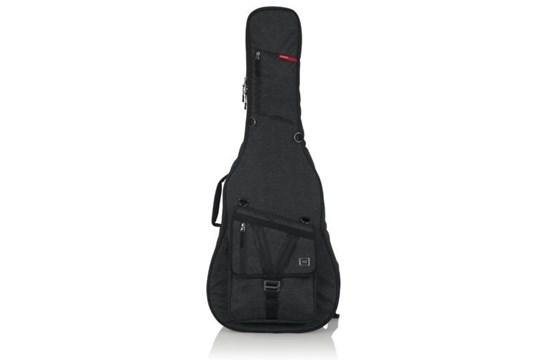 Gator Transit Series Acoustic Guitar Gig Bag (Charcoal)