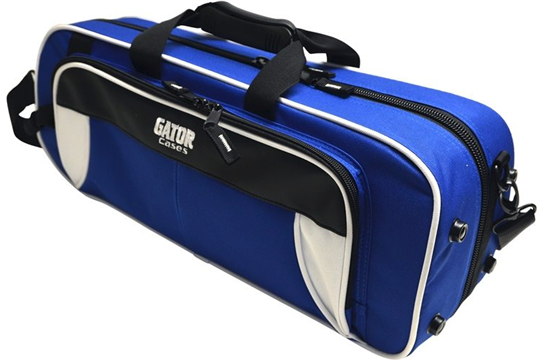 Gator Spirit Lightweight Trumpet Case (White Blue)