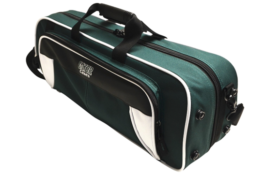 Gator Spirit Lightweight Trumpet Case (White/Green)
