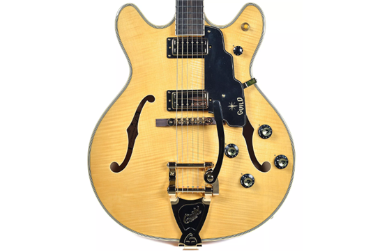 Guild Starfire VI Electric Guitar (Blonde)