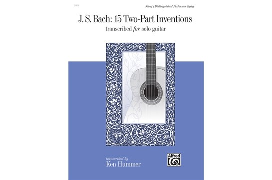 15 Two Part Inventions Classical Guitar
