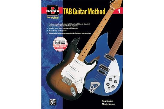 Basix Tab Guitar Method 1 w/CD