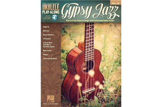 Gypsy Jazz Ukulele Play-Along Volume 39
